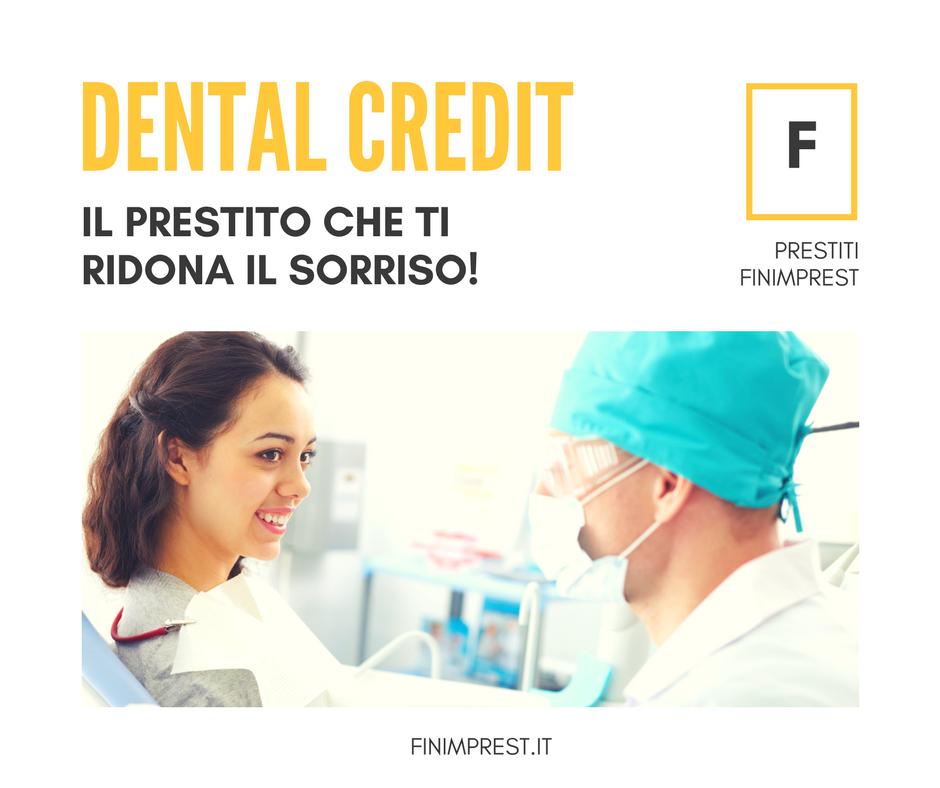 dental credit prestito cure odontoiatriche